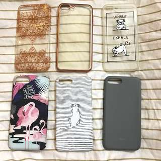 (ALL FOR 30k!) iPhone 7+ Cases Garage Sale