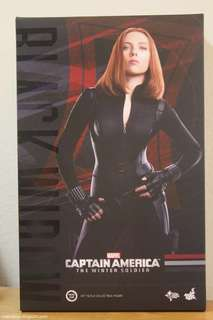 Hot Toys Black Widow & Scarlett Witch Box - Figures not included