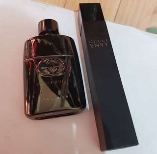 Gucci Guilty Intense Men 50ml 190rb & Gucci Envy women  50ml 190rb