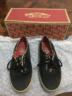 VANS LEOPARD AUTHENTIC w/ BOX