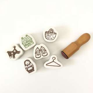 Japan foam rubber stamps