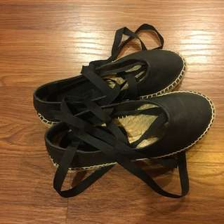 🚚 Zara綁帶鞋
