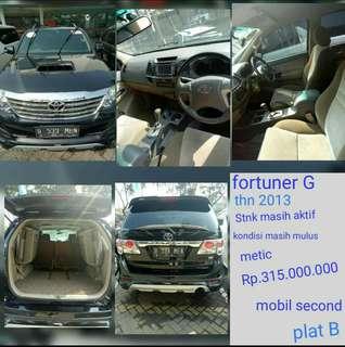 Dijual mobil second Toyota fortuner