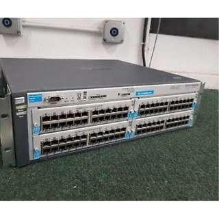 managed Poe switch HP PROCURVE 4204 high enterprise model