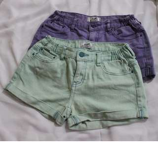 Hermès Denim Shorts (mint)