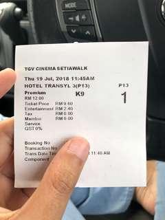 Tgv Cinema SetiaWalk Hotel Transylvania 3