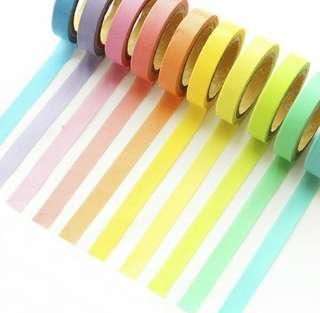 🚚 Rainbow Washi Tape