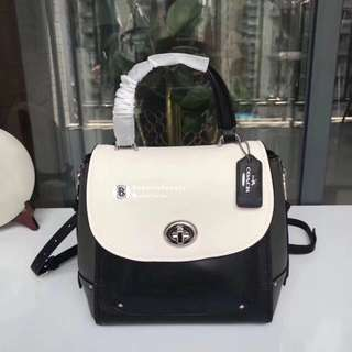 Coach Faye Backpack in Colorblock