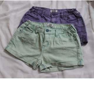 Hermès Denim Shorts (purple)