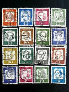 German vintage stamps#1
