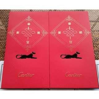 20 pcs Cartier 2018 red Packet / Ang Bao Pao Pow Pau / Sampul Duit