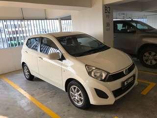 Perodua Axia, low mileage