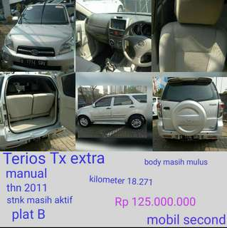 Dijual mobil second Terios