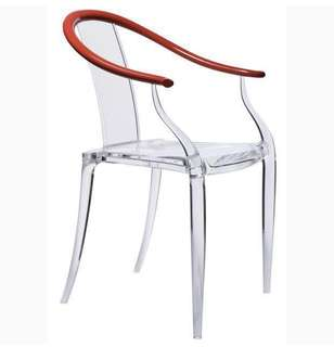 Designer Chair~ Philippe Starck- Mi Ming Chair (100% New) Brought from Lane Crawford CWB at original price HK$4800! 100% Real! 正版正貨!  Move house cheap sale!!! Now Half price!!! Only $2400 購自銅鑼灣「連卡佛」真金白銀買入原價$4800! 搬屋平售,半價 $2400 超值! (see the pics X 10)