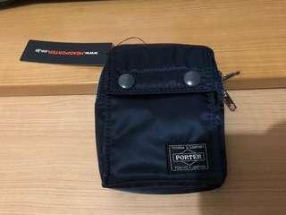 全新深藍色Porter腰包(購自日本)