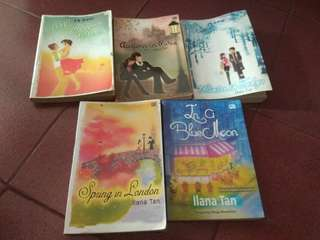 Novel best seller illana tan
