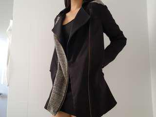 black tokito coat