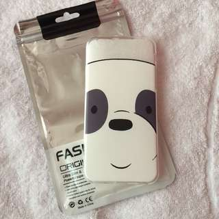 🌻BRANDNEW🌻 Iphone 6 Iphone 6s We Bare Bears Panda Soft Clear Case