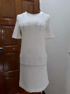H&m t shirt knit dress