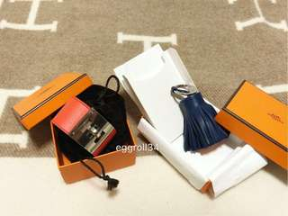 Hermes duo set! carmen charms and Kelly dog bracelet
