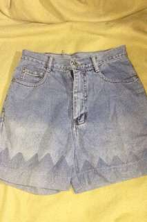 Highwaist Denim shorts