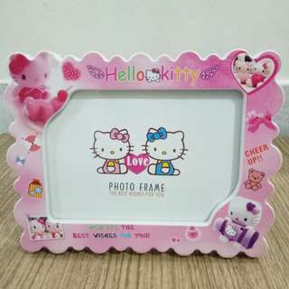 Hello Kitty Waves Frame / Bingkai Foto Hello Kitty Gelombang