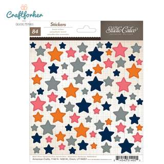 🚚 ♥Stickers♥ Colorful Star Stickers 84pcs