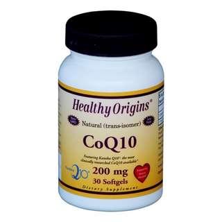 CoQ10 200mg (Kaneka Q10™), 30 sgls