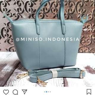 MINISO BAG BLUE