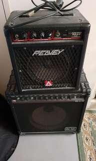 PEAVEY MICRO BASS AMP & ROSS AMP