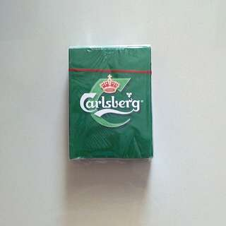 Carlsberg playing cards