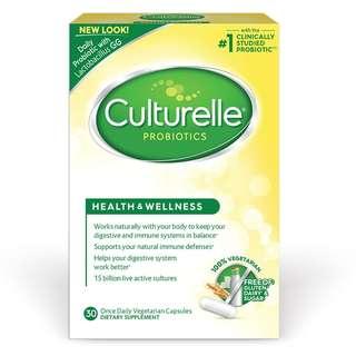 Culturelle Probiotics, Health & Wellness, 30 Veg caps