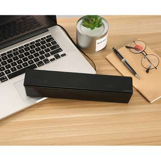 🚚 🔥 HIGH BASS DUAL FIRING  USB SPEAKERS SOUNDBAR SOUND BAR FOR PC COMPUTER LAPTOP AUDIO