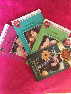 Precious Hearts 4 books for 100