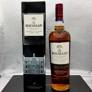 舊版 Macallan Whisky Markers Edition 威士忌
