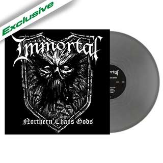 Immortal ‎– Northern Chaos Gods (Silver) LP Vinyl
