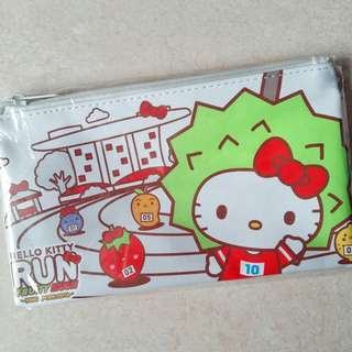 BNIP (Limited Edition) Hello Kitty Run Fruity Rush 2018 Pencil Case
