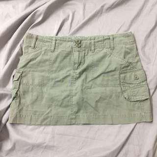 Penshoppe army green mini skirt