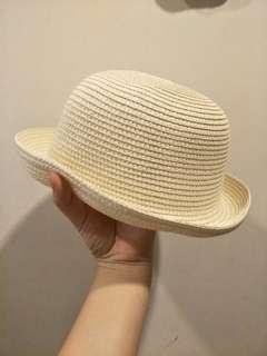 🚚 米白色草帽