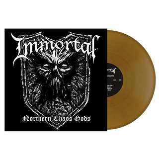 Immortal ‎– Northern Chaos Gods (Gold) LP Vinyl