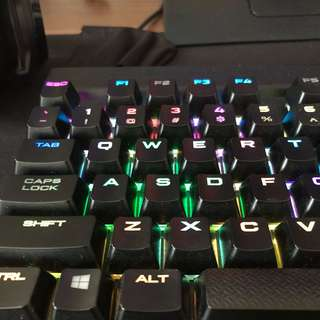 Corsair K70 RGB RapidFire mechanical gaming keyboard