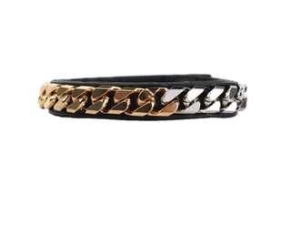 🚚 Vita Fede 正品 全配 漸層三色 金銀鏈皮手環#可換物