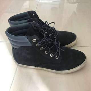 Authentic Timberland Ortholite Blue Hiking Waterproof Boots (Excellent condition)