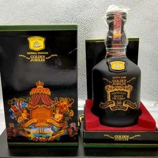 限量版 Cutty Sark Golden Jubilee 50years Whisky 50年 威士忌酒