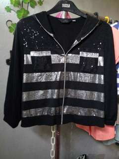 Jaket crop korea
