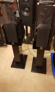 MBL 126 speakers with original stands