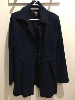 Forever new navy coat