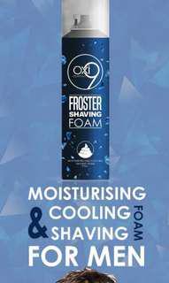 Froster Shaving Foam sale $5