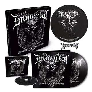 Immortal ‎– Northern Chaos Gods Limited Edition Box Set