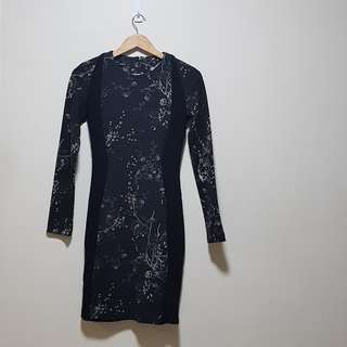 Warehouse bodycon dress